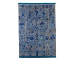 Handgemaakt tapijt Grey Blue, 248 X 172 cm