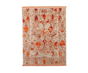Handgemaakt tapijt Orange Beige, 244 X 178 cm