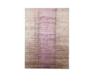 Handgemaakt tapijt Purple Beige, 277 X 184 cm