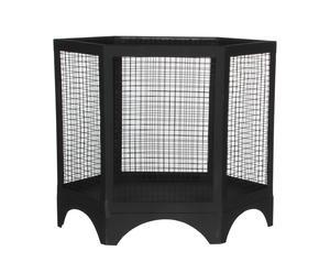 Vuurkorf Hexaco, zwart, Diameter 48 cm
