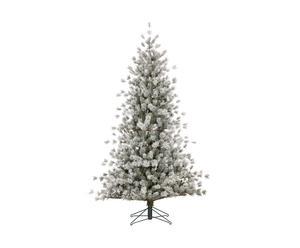 Kunstkerstboom Tacoma, wit, H 215 cm