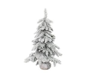 Kunstkerstboom Monterey, wit, H 90 cm