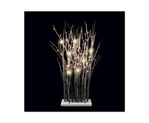 LED-verlichte takken Durham, bruin, L 40 cm