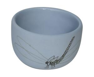 Koffiekopje Insect, blauw, diameter 8,3 cm