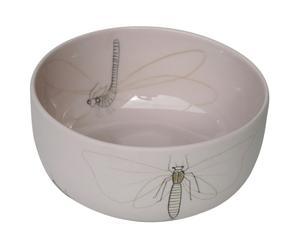 Schaaltje Insect, roze, diameter 15 cm