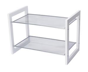 Schoenenrek Modern, wit, B 55 cm