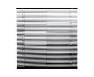 Jaloezieen aluminium 16 mm VIII, zwart, B 140 cm