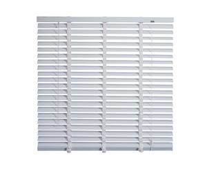 Jaloezieen aluminium 50 mm + Ladderband II, wit, B 80 cm