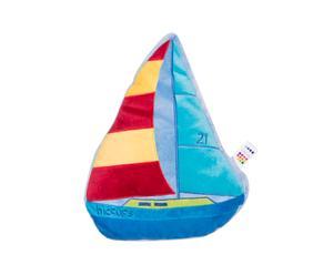 Knuffel Sail Away, blauw, L 36 cm