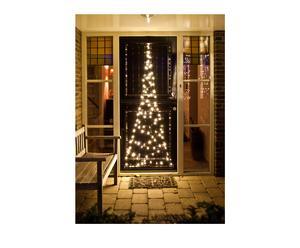 Deurkerstboom Christie, zwart/wit, H 210 cm