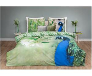 2-persoons dekbedovertrekset Pavo, multicolor, 200 x 220 cm