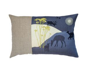 Kussen Deer on the hills, multicolor, 40 x 60 cm