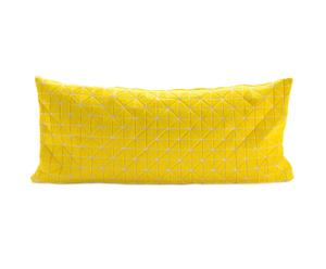 Kussenhoes Geo Yellow, 30 x 60 cm