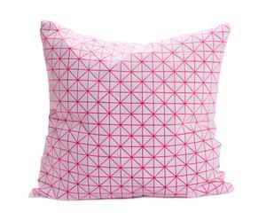 Kussenhoes Geo Pink, 50 x 50 cm