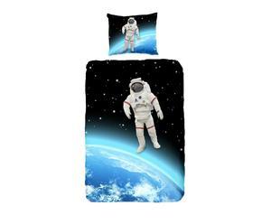 1-Persoon dekbedovertrek Astronaut, multicolour, 140 x 200/220 cm