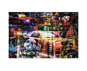Originele canvas print Jacksart New York Broadway, multicolor, 116 x 78 cm