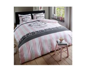 2-Persoons DBO Paris Heritage, roze, 200 x 200/220