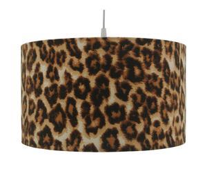 Hanglamp Panter I, bruin, diameter 35 cm
