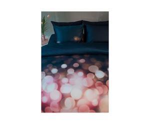 Dekbedovertrekset Sparkling, zwart, 240 x 220 cm