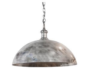 XL-hanglamp Adora, zilver, Ø 70 cm