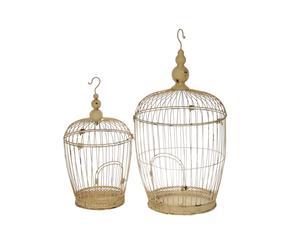 Set van 2 vogelkooien Cage
