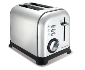 Toaster Brushed, staalkleurig