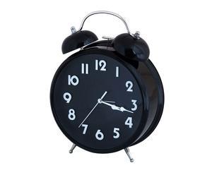 Wekkerklok Lidia, zwart, H 31 cm