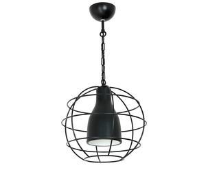 Hanglamp Cage, zwart, B 30 cm