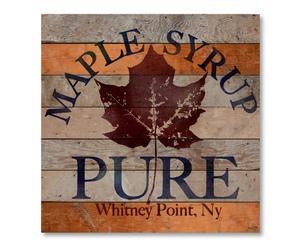 """Dekoracja ścienna """"Maple Syrup"""