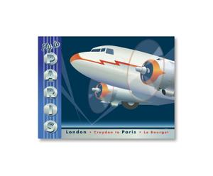 "Plakat ""Fly to Paris"""