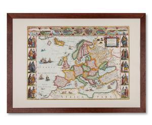 """Plakat """"Europakarte"""""""