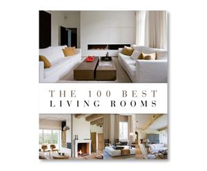 Coffeetable Book The 100 Best Living Rooms
