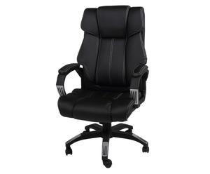 """Krzesło obrotowe """"Lars"""", czarne"""