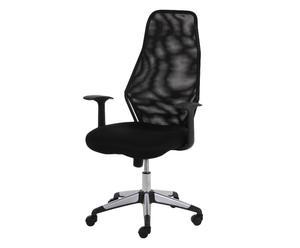"""Krzesło obrotowe """"Fjorden"""", czarne"""