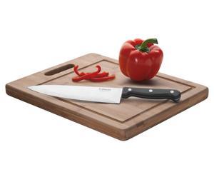 "Deska do krojenia i nóż kuchenny ""Stratus"""