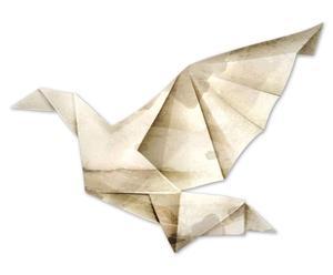 """Grafika 3D """"Paperbird"""""""
