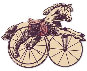 "Grafika 3D ""Horse power"""