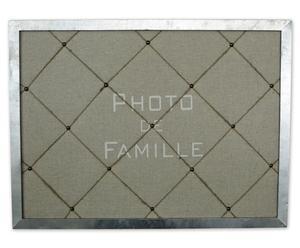 """Tablica na zdjęcia i notatki """"Famille"""""""