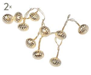 Zestaw 2 łańcuchów dekoracyjnych lampek