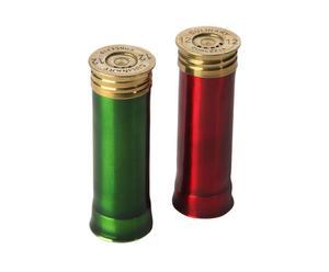 """Zestaw 2 pojemników na przyprawy """"Cartridge Red & Green"""""""