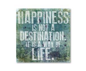 "Obraz ""Happiness Way Of Life"" 67 x 67 cm"