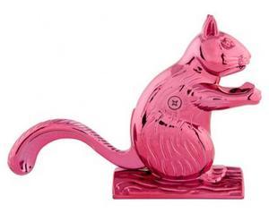 """Dziadek do orzechów """"Squirrel"""", różowy"""