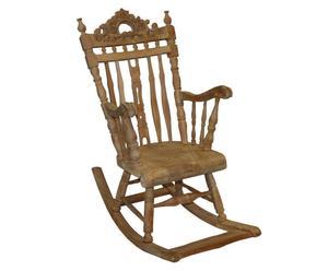 """Krzesło bujane dla dzieci """"Jarno"""", tekowe"""