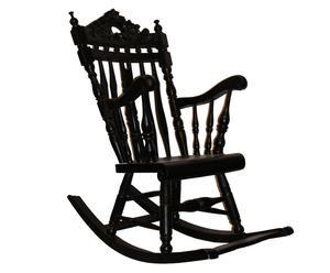 """Krzesło bujane dla dzieci """"Jarno"""", mahoniowe"""