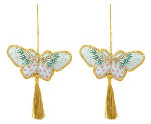 """Zestaw 2 zawieszek """"Butterfly Dream"""""""