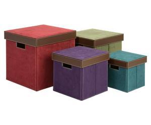 "Zestaw 4 pudełek ""Teresa"""