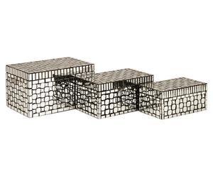 """Komplet 3 pudełek """"Foley"""""""