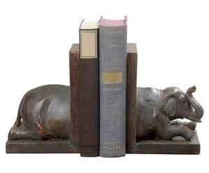 "Komplet 2 podpórek do książek ""Elefant"""