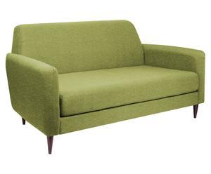 """Sofa 3-osobowa """"Etnala"""", zielona"""