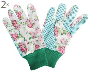 """Zestaw 2 rękawic ogrodowych """"Sweet Roses"""""""